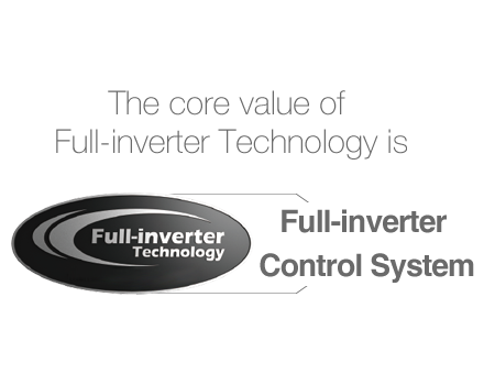 The core value of Full-inverter Technology is Full-inverter Control System - Fairland swimming heat pump and pool heating solutions
