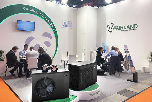 Fairland Original Full-inverter at Interbad 2018 in Stuttgart, Germany