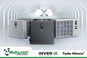 Fairland Inver-X Series with Patent, Power to Enjoy More - Fairland R32 Full Inverter Pool Heat Pump Manufacturer and Supplier