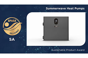 INVERX won 2020 SPASA Gold Award for Sustainable Product Award! - Fairland R32 Full Inverter Pool Heat Pump Manufacturer and Supplier